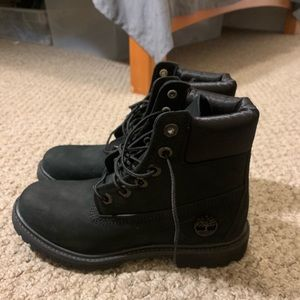 Women's Timberland 6 inch premium waterproof boots